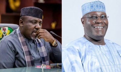 "Governor Rochas Okorocha of Imo State, who reacted to claims by former Vice President, Atiku Abubakar to lead the People's Democratic Party (PDP) to take back Imo State in 2019 elections, has advised the former Vice President and PDP Presidential aspirant to face his challenges and leave Imo politics alone. 'I will defeat Atiku even in his hometown, Adamawa' - Rochas Okorocha lailasnews In a statement released on behalf of Governor Rochas Okorocha by his Chief Press Secretary, Mr. Sam Onwuemeodo, the Imo State Governor described the statement by Atiku Abubakar as an empty threat that can never be achieved. The statement which stated that Governor Rochas Okorocha will defeat the former VP in any election, even in his home state of Adamawa, also advised Atiku Abubakar to ""leave Imo and Governor Rochas Okorocha alone and face his worrisome challenges"". It reads in part; ""And if he does not know, Governor Rochas Okorocha will defeat him in any part of the Country including his Adamawa State in any election involving two of them. He does not therefore have what it takes to lead any struggle that will return the PDP to power in the State or the Country in 2019. That promise was a false one"". It continued that, ""the former Vice President Alhaji Atiku Abubakar was in Owerri for a meeting with the stakeholders of the PDP in the State over his presidential ambition. ""While meeting with the PDP Stakeholders in the State, he was reported to have told them that he would lead the struggle for the PDP to take over Imo and Nigeria in 2019. He also tried to run down the governor, Owelle Rochas Okorocha and his government. ""What we do not take from anybody is blackmail against the government of Rochas Okorocha. We would do our best to set the record straight. The former Vice-President would have done his meeting without scratching the governor and the government he heads in the State. And that is where we come in"". The statement also read, ""the former Vice-President therefore leave Imo and Governor Rochas Okorocha alone and face his worrisome challenges. And if he does not know, Governor Rochas Okorocha will defeat him in any part of the Country including his Adamawa State in any election involving two of them. He does not therefore have what it takes to lead any struggle that will return the PDP to power in the State or the Country in 2019. That promise was a false one. ""To say the least, that promise of returning Imo to PDP was very deceitful knowing full well that in 2011 Rochas ran on the ticket of APGA that had no structure on ground and defeated an incumbent PDP governor with a very wide margin. In 2015, he took the soul of APGA to merge with other parties to form APC and defeated two powerful Candidates of PDP and APGA, even with the PDP Candidate having the Federal might behind him. Interestingly Alhaji Atiku Abubakar was not in exile when all these happened. ""Imo PDP is dead. The monumental achievements of Governor Okorocha in less than eight years have destroyed the Imo PDP because the Party has no claim again to make before Imo people. ""When PDP was in power in the State the Imo Airport was an eyesore, but today it has become an International Cargo Airport with all the facilities available and Courtesy of Rochas Okorocha's administration. The former Vice-President would have demonstrated statesmanship by commending Rochas Okorocha for that feat"". Furthermore, the statement pointed out that, ""all the flyovers and tunnels Alhaji Atiku passed through in Owerri were not there when the PDP was in power for twelve years. The twelve and eight – lane roads the former Vice President saw in Owerri when he came were not there when the PDP held sway. The free education that has raised the school population of the State from 381,000 in 2011 to over one million in 2017, was not also there under the PDP. ""Beyond the noise of few power seekers in the State, Imo people are on the side of Governor Rochas Okorocha because of the large extent he has developed the State. The projects are available for verification. Let Atiku ask the PDP in the State to publish their achievements for the twelve years they governed the State and let Rochas publish his achievements for the less than eight years he has been on seat, and the former VP will discover that PDP in the State is a goner. ""And that is the reason all those who made the Party thick in the State have all left to join either APGA or APC. Today, all the former guber aspirants in the PDP are doing so in APGA including Chief Ikedi Ohakim. They have left the PDP for two people. ""So, the former Vice-President should have told the remnants of the PDP in the State to bear with the situation they have seen themselves instead of raising their hope by promising them that he would lead the struggle that will return the Party to power in the State. And on our part, we do not need to struggle for APC to sustain its hold on Imo since Imo people shall Continue to vote for the party."""