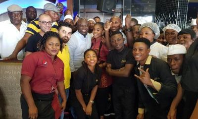PHOTOS: Governor Ambode Spotted At Rhapsody Ikeja
