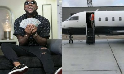 Davido buys private jet