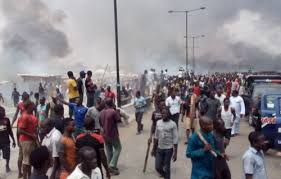 Ketu Market Mayhem: One Feared Dead In Lagos As Rival Gangs Fight Bloody