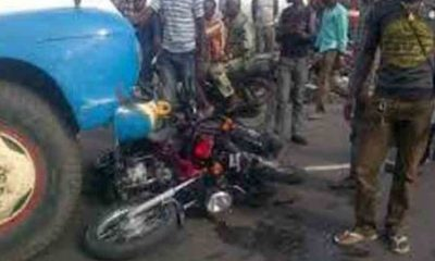 Okada Rider Crushed To Death By A Truck In Ogun State