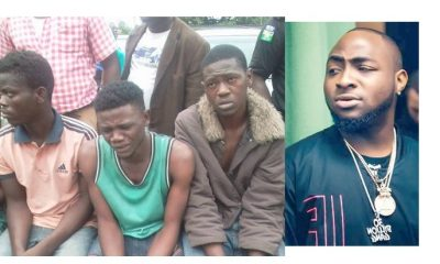 'I Joined The Black Axe Confraternity In Order To Meet Davido' - Suspect Confesses