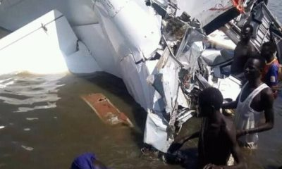 At Least 18 Dead As Plane Crashes Into Lake In South Sudan (Photos)