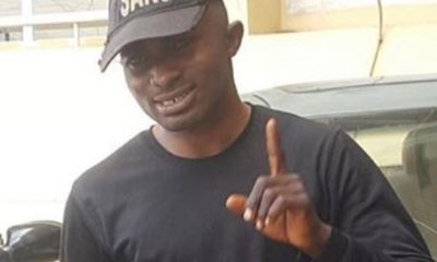Photo: Fake SARS Officer, Tijani Omeka, Arrested In Abuja