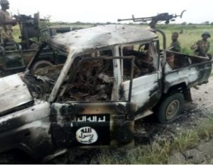 Nigerian Air Force bombs Boko Haram convoy in Gudumbali, Borno State