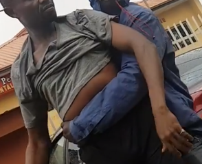 Okada Man Raises Alarm After Random Man Touches Him And His Manhood Disappears (video)