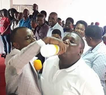 """""""They were drinking the blood of Jesus"""" - Pastor who gave members JIK bleach to drink defends his actio"""