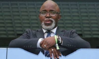 "Amaju Pinick has become the first person to win a second consecutive four-year term as president of the Nigeria Football Federation (NFF). The 44-year-old beat off challenges from former president Aminu Maigari, Taiwo Ogunjobi and Chinedu Okoye. Pinnick, the first vice president of the Confederation of African Football, secured 34 votes from the 44 available in a first round of voting. Maigari received eight votes, Ogunjobi two and Okoye failed to secure a vote. The victory means that Pinnick and his new board will run the NFF until 2022. Throughout his first four years in charge Pinnick has had to deal with claims from Chris Giwa that he was the rightful winner of the 2014 polls. Fifa has continued to give its backing to Pinnick and also made a five-year ban from football related activities on Giwa a worldwide one. In his campaign to stay in power Pinnick said he wanted to establish financial independence for the NFF and end its reliance on government funding. ""We have proven that with our national teams the NFF has a very marketable brand, largely thanks to the sheer size of our fan base and international appeal, so it is possible to achieve this financial independence,"" the 44-year-old said."