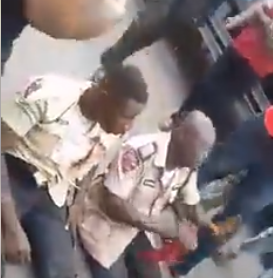 Road Safety Officials Beaten By Angry Mob Who Accused Them Of Causing An Accident