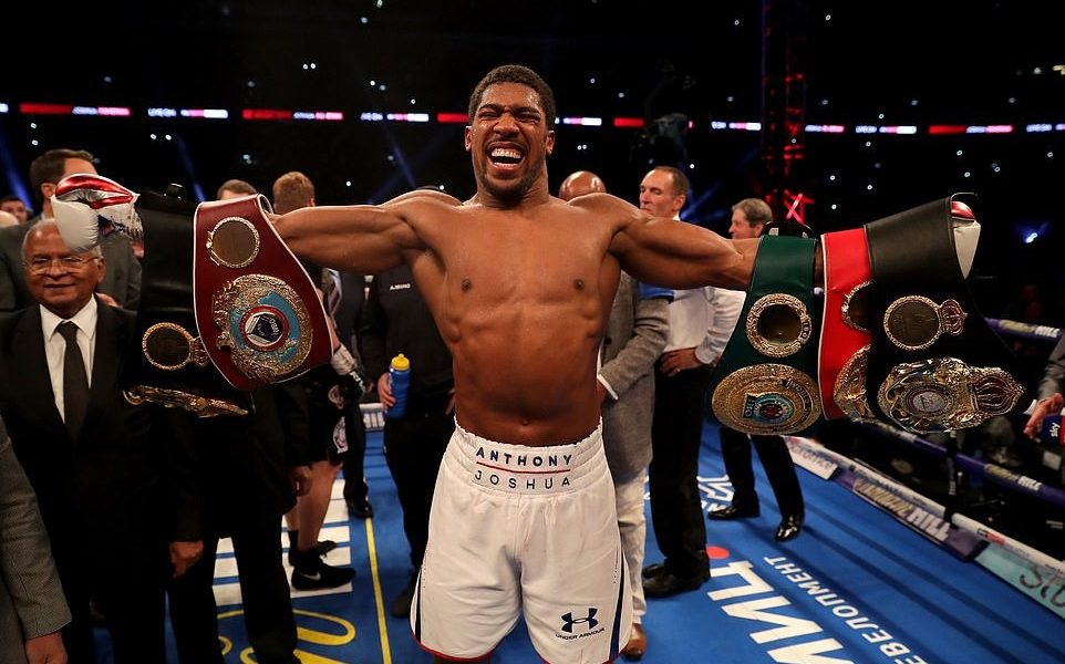 Anthony Joshua Knocks Out Alexander Povetkin In The Seventh Round To Retain World Heavyweight Titles
