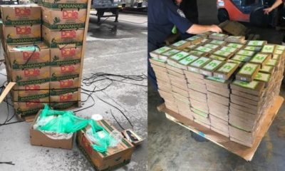 Police Discover $18M Worth Of Cocaine Disguised As Bananas Being Shipped To A Texas Prison Farm