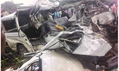 Photos: 18 passengers crushed to death in Ekiti road crash