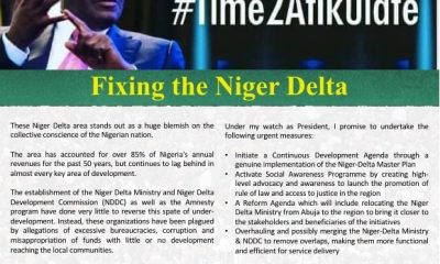 Atiku Shares Thoughts On Fixing Niger Delta(#Time2Atikulate series)