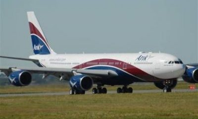 Arik Air Aborts Benin-Lagos Flight Due To 'Abnormality In The Cockpit'