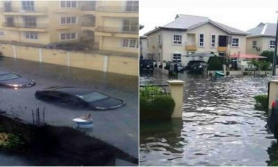 Ibeju Lekki Residents Lament As They Lose Valuables To Flood