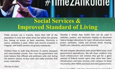Atiku Shares Thoughts On Improving Social Services And Standard Of Living (#Time2Atikulate series)