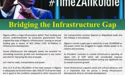Atiku Shares Thoughts On Bridging The Infrastructure Gap (#Time2Atikulate series)