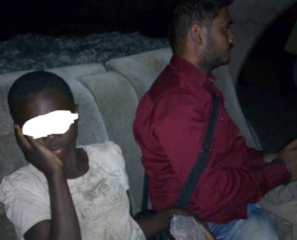 Heartbreaking! Indian Man Publicly Raping A Black Child