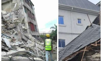 11 Trapped As Three Storey Building Collapses In Anambra State
