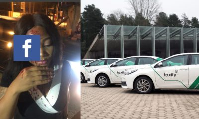 Taxify Driver Allegedly Smashes Lady's Face After Robbing Her (Graphic Video)