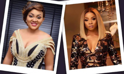 Omojuwa Defends Toke Makinwa And Mercy Aigbe Following Recent Rumors That They Built Their Empire With Help From Sponsors