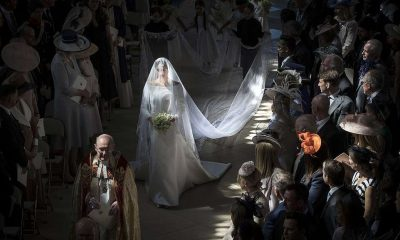 Stunning Shot Of Meghan Markle Walking Down The Aisle Crowned Best Royal Photo Of The Year