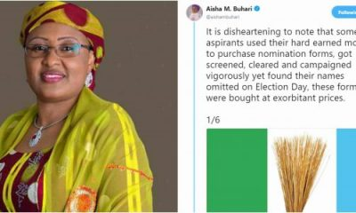 Aisha Buhari Criticises APC Over Conduct Of Election Primaries
