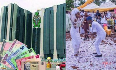 CBN Bans Spraying Of Money In Parties, Defaulters To Be Fined, Or Jailed