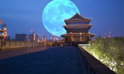 A city in China is planning to launch an 'artificial moon' that will light up the skies as far as 50 miles around. The so-called illumination satellite set to deploy over the southwestern city of Chengdu in 2020 is touted to be eight times as bright as the real moon, to cast a 'dusk-like glow' over the region, according to the People's Daily. China plans to launch artificial moon to light up city skies in 2020 lailasnews 3 Share Officials have released few details on the project, but say the idea pulls inspiration from a French artist who envisioned a necklace of mirrors hanging over Earth. Wu Chunfend, chairman of Chengdu Aerospace Science and Technology Microelectronics System Research Institute Co., Ltd, revealed the plan at an event in the city on Oct 10, People's Daily reports. Share It will complement the moon to make Chengu's night skies brighter when it launches in 2020, potentially serving as a replacement to conventional streetlights. The artificial moon can be controlled to light up an area between 10 and 80 kilometers wide 6 to 50 miles). While it might sound implausible, Wu says the technology has been in the works for years and has now 'matured' toward readiness. Whether the plan will ultimately come to fruition, however, remains to be seen. Chengdu's artificial moon has already been met with criticism from skeptics and concerned citizens who argue that the light will have adverse effects on animals and astronomical observation, People's Daily points out. But according to Kang Weimin, director of the Institute of Optics, School of Aerospace, Harbin Institute of Technology, the light will amount only to a 'dusk-like glow.' It's not the first time humans have attempted to launch a light-reflecting object into the sky – but in the past, such plans have largely ended in failure.