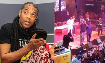 Femi Kuti Slams Buhari's Government In The Presence Of Osinbajo At Felabration (Video)