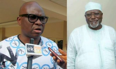 Former DSS director, Lawan Daura Asked Me To Support Buhari's Government – Fayose