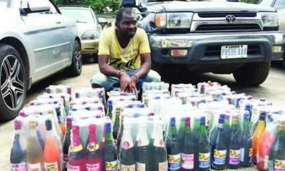 I also drink it, It's not harmful – Fake wine producer