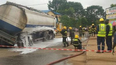 BREAKING: Tanker Allegedly Explodes In Lagos, Many Reported Dead