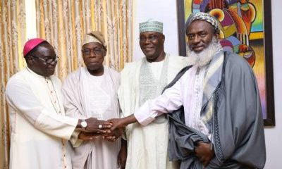 BREAKING! Obasanjo Confirms He Has Forgiven Atiku, Endorses Him For President