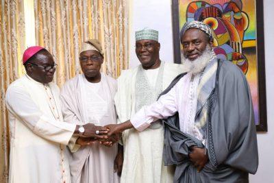 BREAKING! Obasanjo Confirms He Has Forgiven Atiku, Endorses Him For President