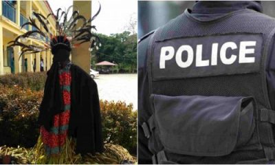 Masquerade Arrested For Stabbing Man To Death In Ondo