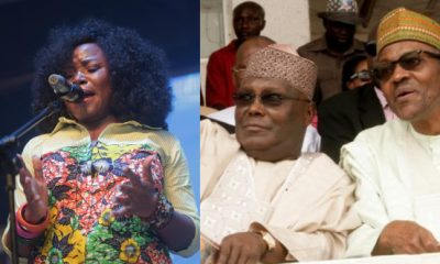 Omawumi Calls President Buhari An 'Incompetent Old Man'