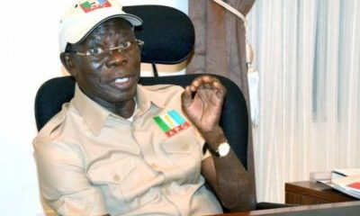 The DSS Breakdown Of How Politicians 'Bribed' Oshiomhole In DollarsV