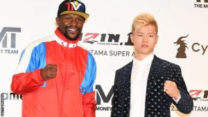 Floyd Mayweather To Fight Kickboxer Tenshin Nasukawa in Japan