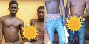 2 Brothers Arrested With Fresh Human Head In Lag