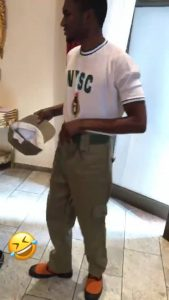 President Buhari's Son, Yusuf Undergoes NYSC in Abuja (Photos)