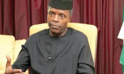 N5.8bn NEMA Scam: Osinbajo Has Questions To Answer - House Of Representatives Insists