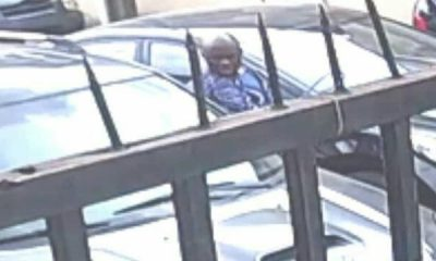 A resident of Lagos state is currently seeking help to recover his car after it was stolen while he was in church on October 28th. In a chat with LIB, Mr Kolade Gbadamosi said his wife had gone to the church situated at Anthony village with the car and had parked it on the street close to their church. Two men who drove in a white car, vandalised his car and drove off with it. Thankfully, a CCTV car installed around the area captured the moment the two elderly men stole the car. Speaking with LIB, Mr Gbadamosi said My wife on the 28th of October went to our church at Anthony on Ajike Faramobi Street with my blue Toyota Corolla car, my kids and a boy that lives with me. All doors were properly locked and all the keys in her possession. After service, I got a call from her that she couldn't find the car where it was parked (which of course is the designated church car park in an adjoining street called Alhaja Oluwakemi Street). It was at that point that I got over and we looked at the CCTV footages. This revealed how it was stolen by these 2 elderly men most likely in their 50's. The Chasis no is JTDBR32E730017617. Toyota Corolla 2003 with Reg no EKY 716 EP. Checks also confirmed they have been around for about 3 hours scanning through the area before they perpetrated their evil. My wife got to church around 9:40 a.m while they had been around since 7 a.m