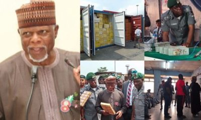 Customs Intercept Tramadol Worth N7.3Bn, Reject $400k Bribe