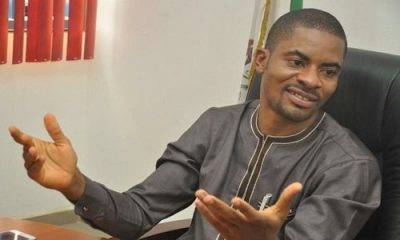 Police Arrest Deji Adeyanju While Leading Protest In Abuja