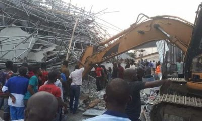 Four more bodies recovered from Rivers collapsed building