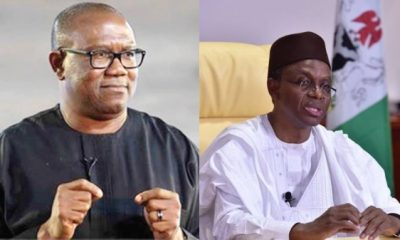 Good Brains Are In APC, Yet The Country Is Not Working – Peter Obi Mocks El-Rufai