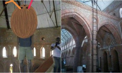 Man Commits Suicide In Church Over Rape Accusation (Graphics photo)