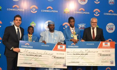 Cowbellpedia Maths Competition Has Met It's Objecitives – Promasidor's Managing Director