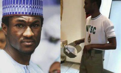 President Buhari's Son, Yusuf Undergoes NYSC in Abuja (Photos)